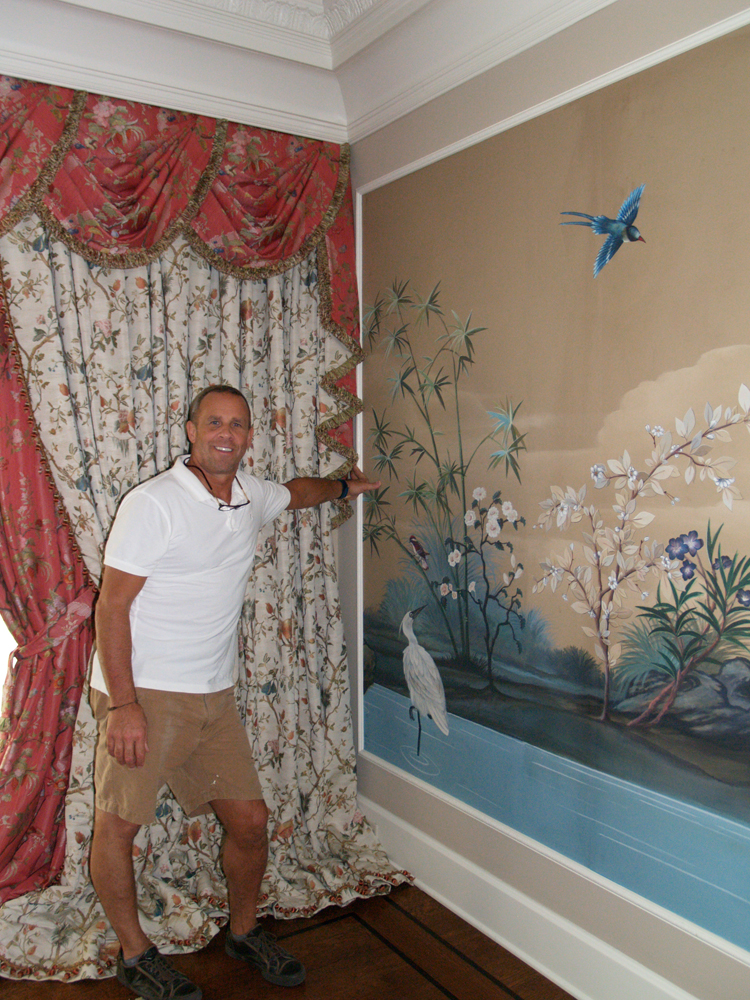 wallpaper and mural installation - photo #7