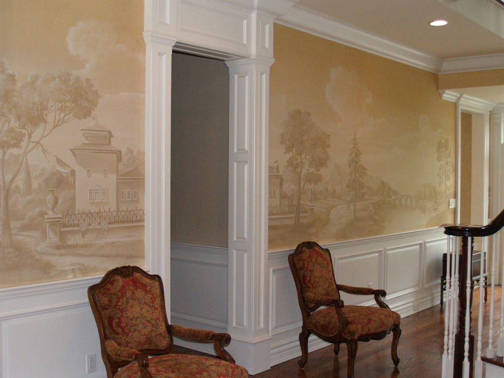 wallpaper and mural installation - photo #37