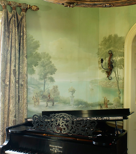 wallpaper and mural installation - photo #15